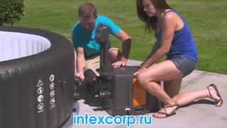 видео Надувные спа бассейны с гидромассажем. Надувные бассейны джакузи