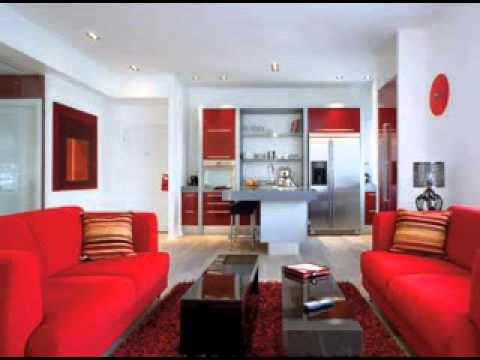 Diy Red Living Room Decor Ideas Youtube
