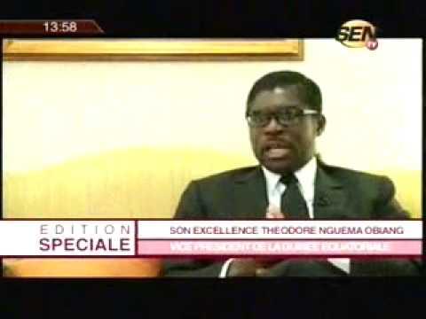 Bougane Guéye Dany - Teodoro Obiang Nguema l'interview de SENTV qui aurait dérangé