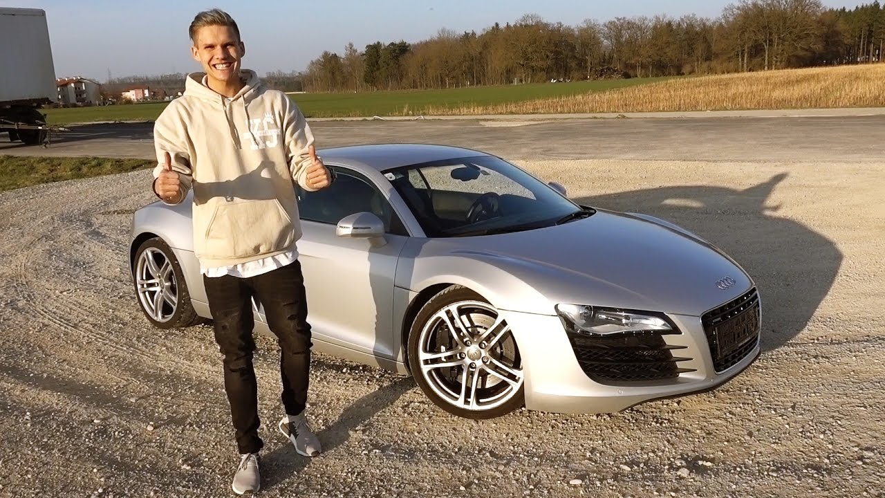 audi r8 geschenk an krappi ksfreakwhatelse youtube. Black Bedroom Furniture Sets. Home Design Ideas