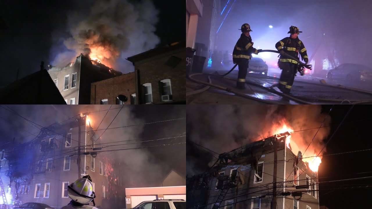 Garfield Nj Fire Department Operates At A Working Fire 91 Jewell Ave May 28th 2020 Youtube