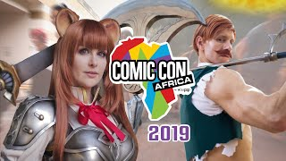 Comic Con Africa 2019 Cosplay Music Video | Primal Nerdz