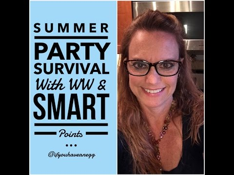 Survive Summer Parties with WW & Smart Points!  Facebook Live Chat Video
