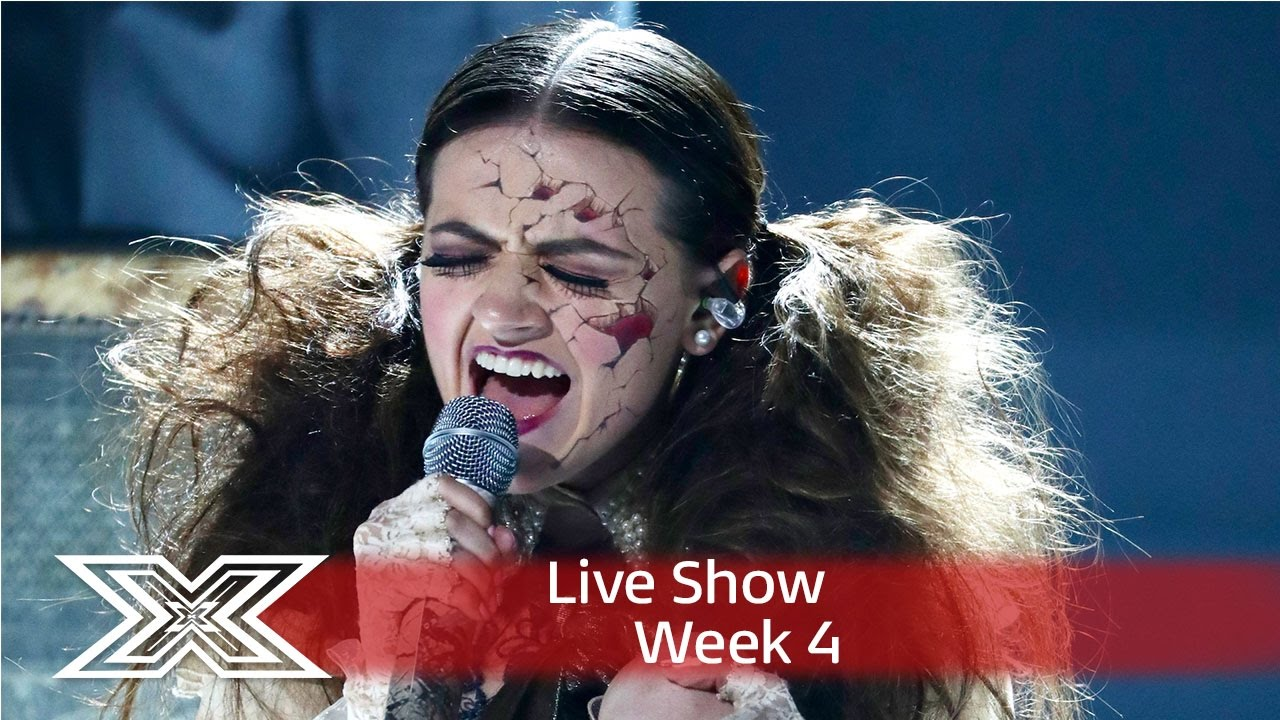 Emily Middlemas gets creepy for Radiohead cover! | Live Shows Week 4 | The  X Factor UK 2016