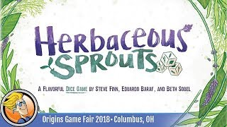 Herbaceous Sprouts — game preview at Origins 2018
