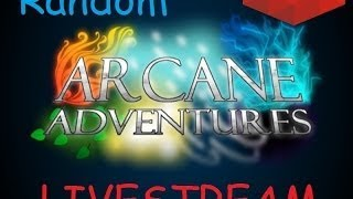 I am alive but its boring asf | Roblox Arcane Adventure Random Livestream