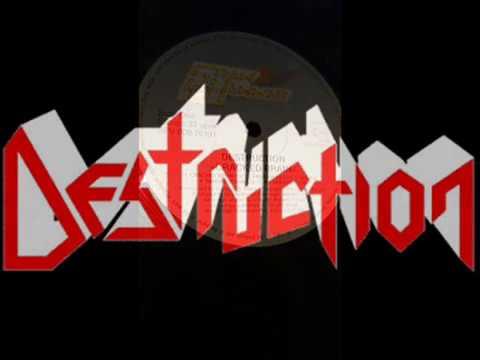 DESTRUCTION - Cracked Brain (1990) Full Album Vinyl (Completo)