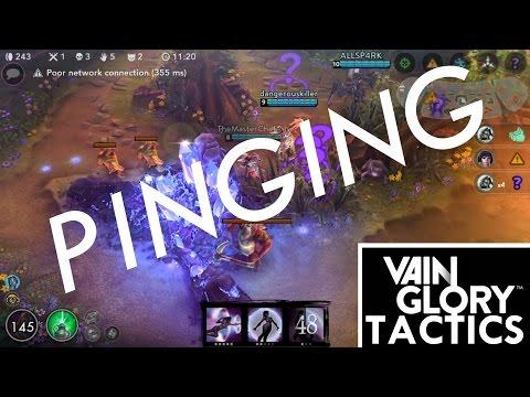 VainGlory Tactics ~ Pinging