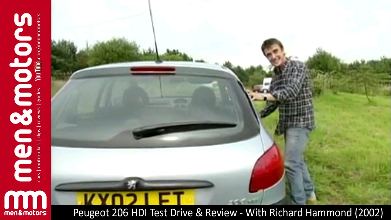 peugeot 206 hdi test drive review with richard hammond. Black Bedroom Furniture Sets. Home Design Ideas
