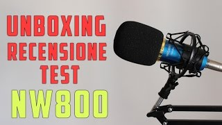 neewer nw800   unboxing e recensione test