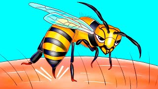 ハチが相手を1度しか刺せない理由