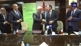 وزارةِ المياه ووزارةِ البيئة توقعان اتفاقيةُ تنفيذِ عطاءِ تعليةِ سدِ الوالة - (9-8-2017)