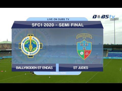 Dublin Senior 1 Football Semi Final- Ballyboden St Endas v St Judes