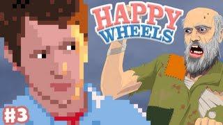 Happy Wheels - Part 3 - North Pole Rush