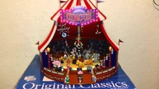 Mr Christmas world's Fair big top circus