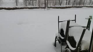 Наконец-то,  настоящая зима!