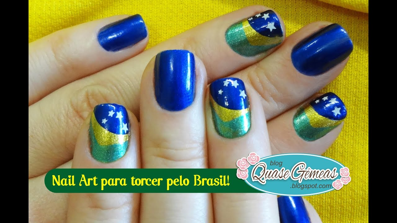 Unhas Decoradas Rendinha com Flor de Poá Manual Bela e
