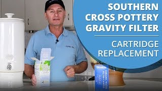 How to change the cartridge in your Southern Cross Pottery Gravity Fed Ceramic Stoneware Water