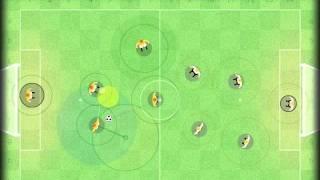 Игра Футбол онлайн. Урок первого хода.