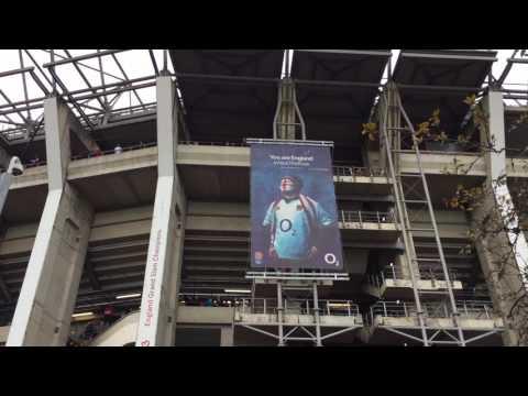 England v Fiji @Twickenham Stadium
