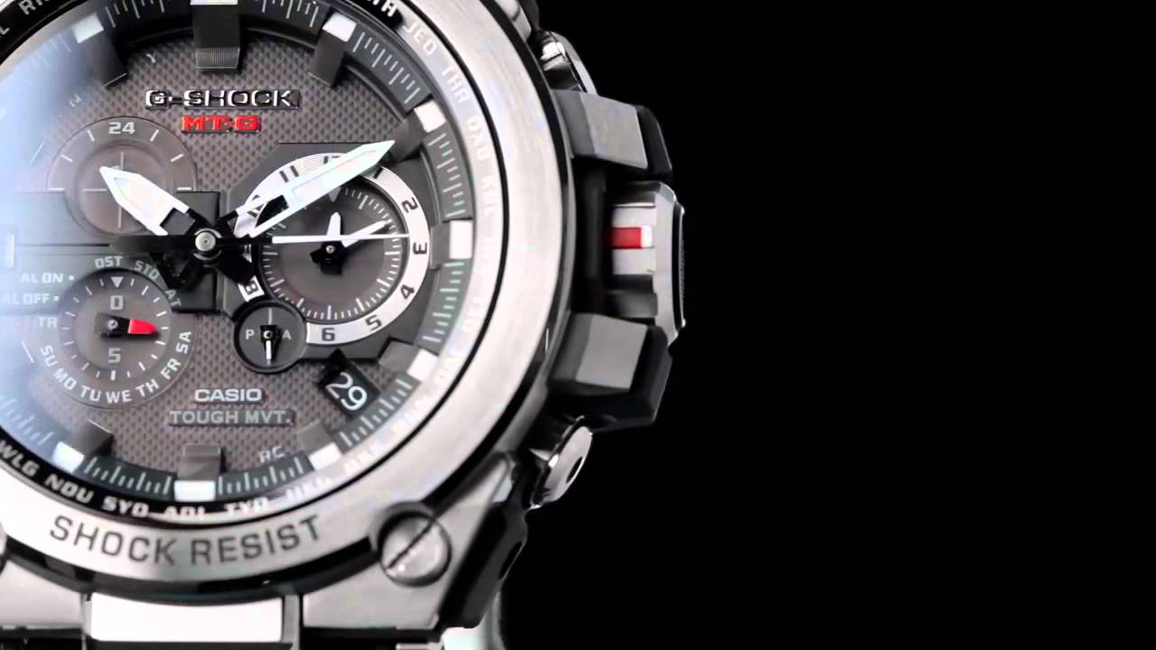 G-SHOCK Introduces the MT-G MTGS1000D-1A - YouTube