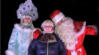 Верхняя Салда 2017 открытие новогодней ёлки