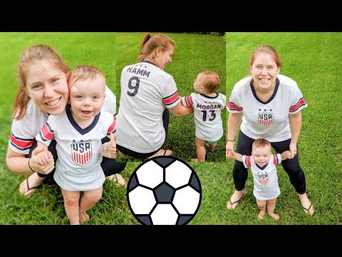 BABY LOVES WOMEN'S WORLD CUP 2019   Kalyn and Robert