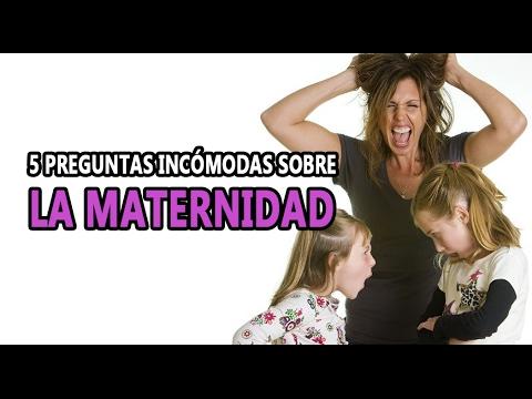 bcbd8f906 5 Preguntas Incómodas sobre la maternidad - YouTube