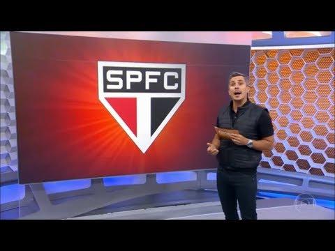 São Paulo vai ter reforços frente o galo no fim de semana. (GE/SP 16/06/17)