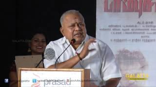 Radha Ravi Scolds People who post Negative Review on Lingaa Movie - Funny Speech  | Galatta Tamil