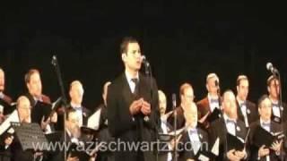 Cantor Azi Schwartz Baavur David Live החזן עזי שוורץ בעבור דוד בהופעה חיה