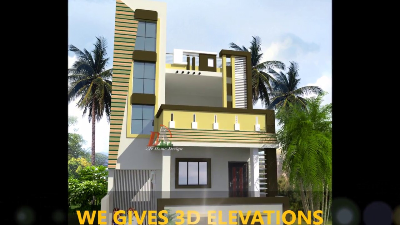 Double Floor Home Elevation Youtube
