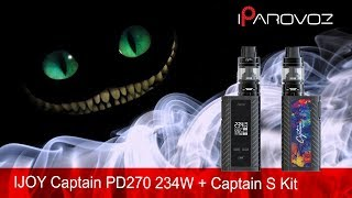 iJOY Captain PD270 234W  Captain S Kit 6000mAh Блиц обзор