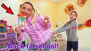 ZÂNICA Manânca RECHIZITE ȘCOLARE!!! Challenge BACK TO SCHOOL !!!
