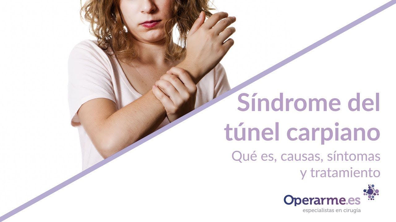 04508925f6 Causas del síndrome del túnel carpiano