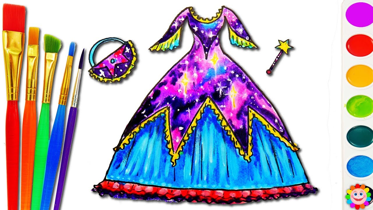 6c0ca9e2a How to Draw Barbie Dress Bag Accessories for Girls