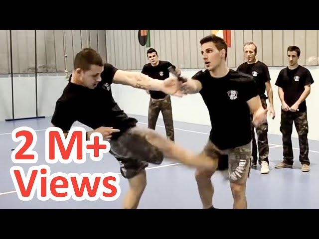 KRAV MAGA TRAINING • The fastest Knife disarm