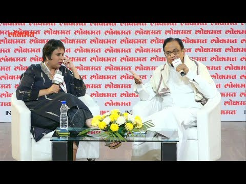 Lokmat Parliamentary Awards 2018 | P. Chidambaram in conversation with Barkha Dutt