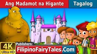 Ang Madamot na Higante | Kwentong Pambata | Mga Kwentong Pambata | 4K UHD | Filipino Fairy Tales