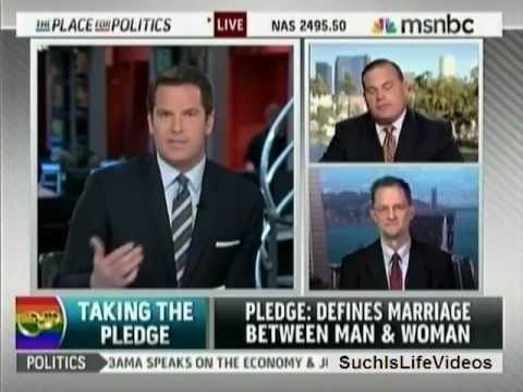MSNBC - Brian Brown Vs. John Lewis On NOM's GOP Anti-Gay Marriage Pledge