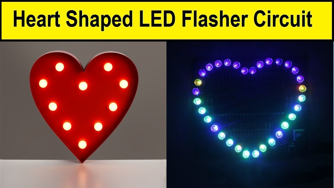 Electronics Projects How To Make An Led Flasher Using A Timer Chip