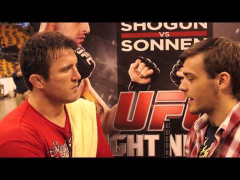 Pre-Fight Interview with Chael Sonnen ahead of UFC Fight Night 26