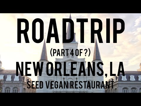 ROAD TRIP (Part 4 of 9) | New Orleans, LA | Seed Vegan Restaurant