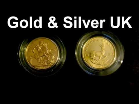 Gold Sovereign & Krugerrand comparison
