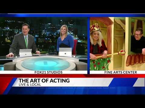 FAC Theatre School Live & Local on FOX21 Morning News
