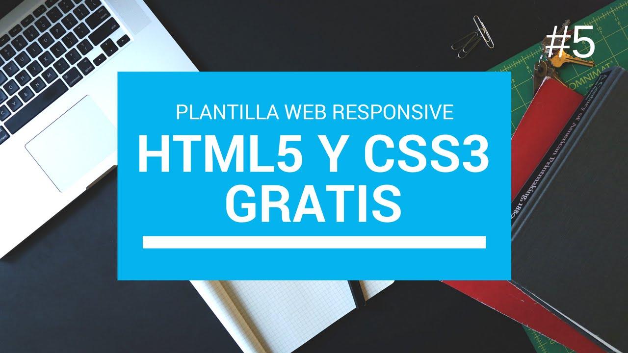 5 Descargar Plantilla web html5 y Css3 Responsive Gratis 2017 ...
