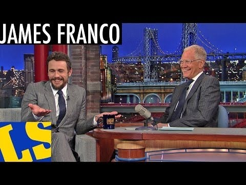 James Franco, Jake Johannsen, Action Bronson on Late Show With David Letterman