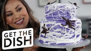 Spiderweb Cake | Get the Dish