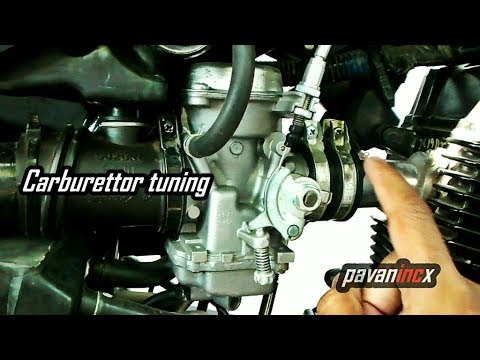 Carburettor tuning Motorcycle