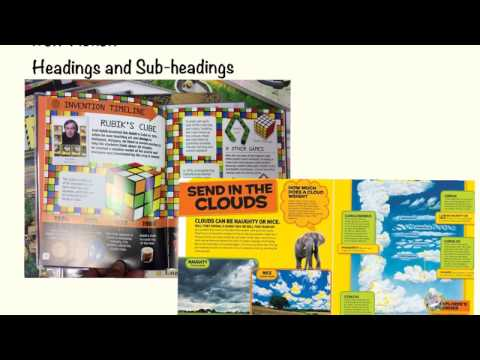 Headings & Sub Headings: What Are They?